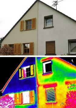 The hoax of IR scanning by infrared thermography from house inspectors to detect heat losses and heating leaking