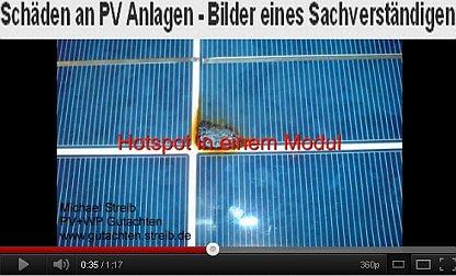 Schäden durch photovoltaikanlagen